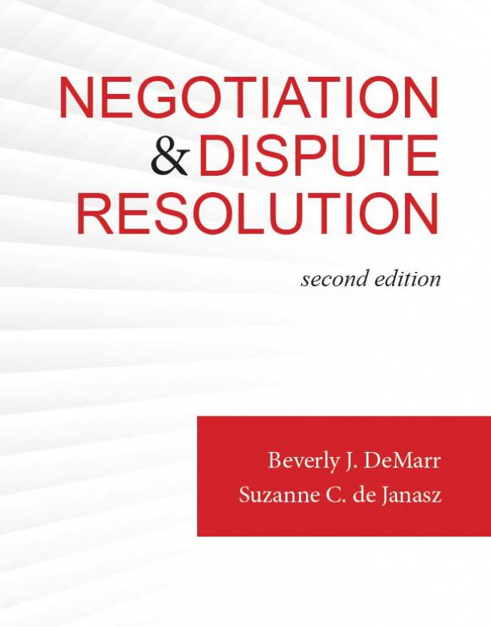 Negotiation and Dispute Resolution, 2e