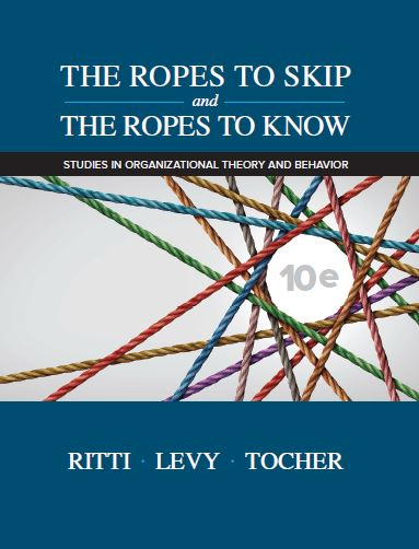 The Ropes to Skip and the Ropes to Know, 10e