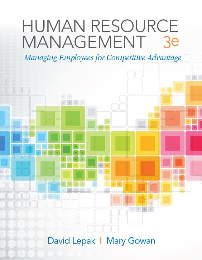 Standalone - Human Resources Management, 3e